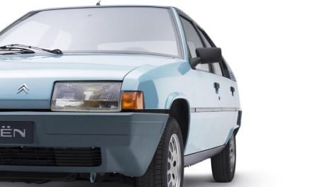 Citroën BX: el coche que descendió de la Torre Eiffel