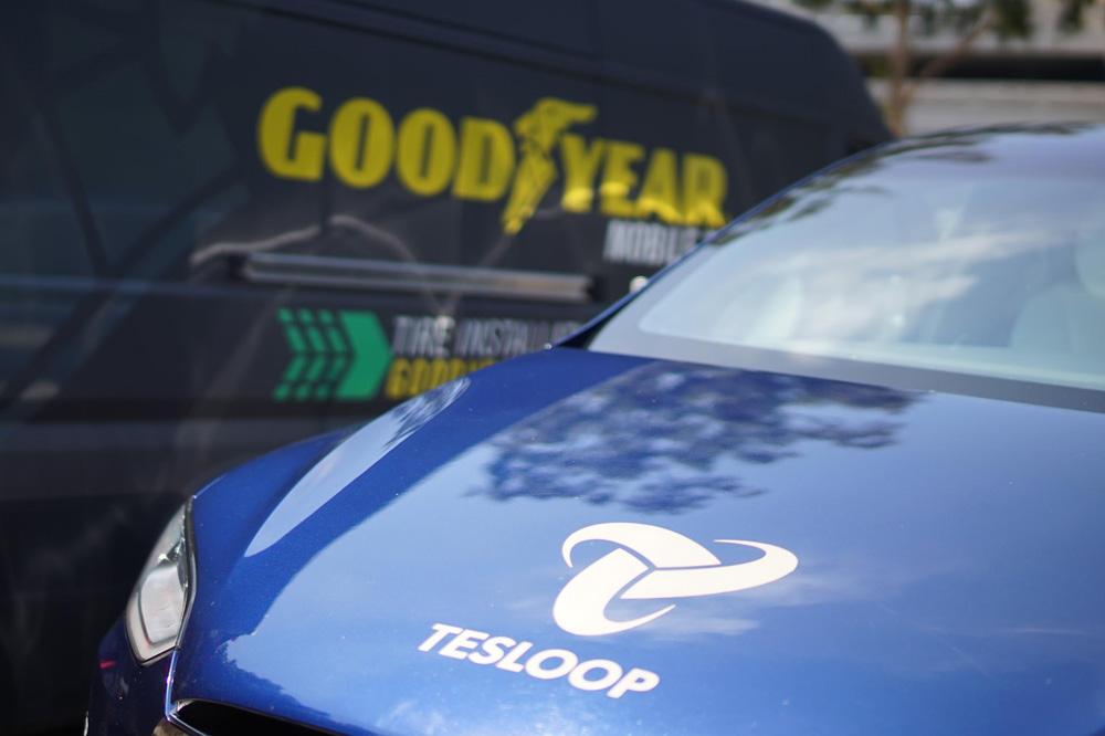 Goodyear inicia las pruebas de su neumático inteligente