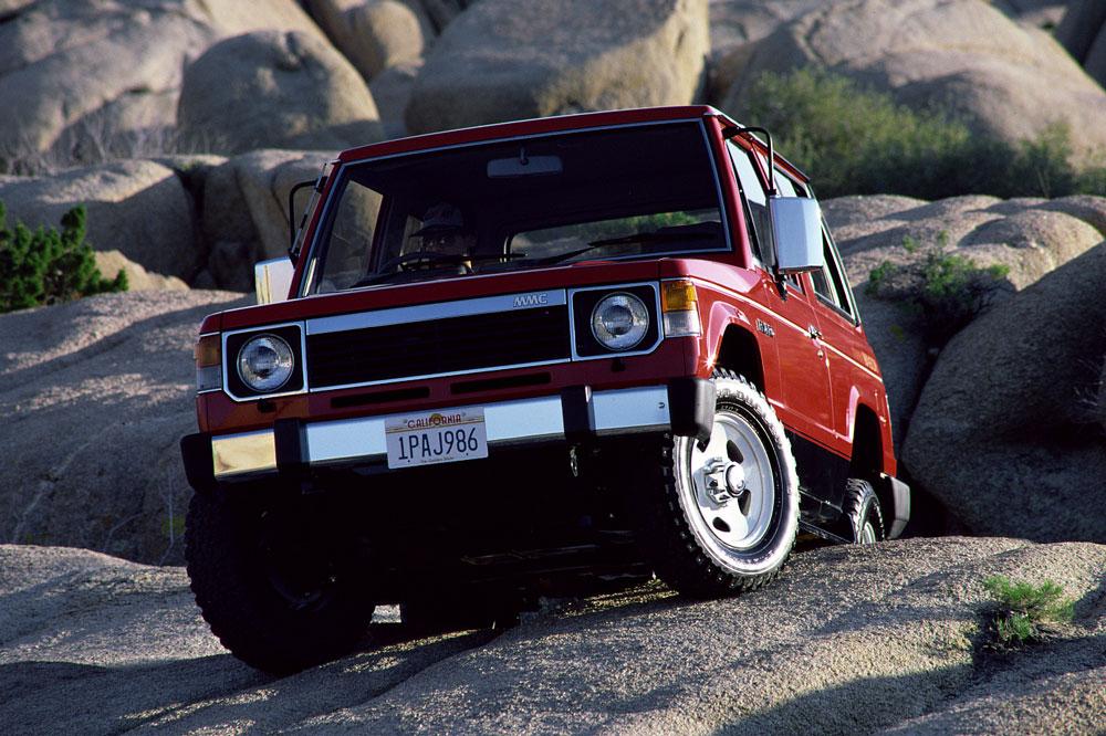Primera generacion del Mitsubishi Pajero
