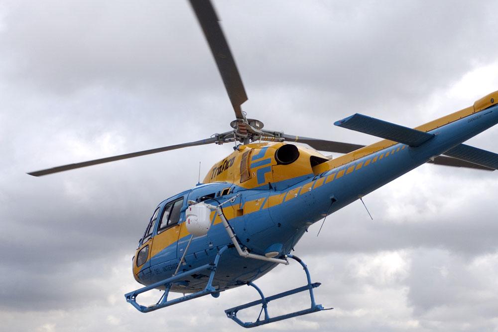 La DGT incrementará las medidas de vigilancia de infractores desde el aire