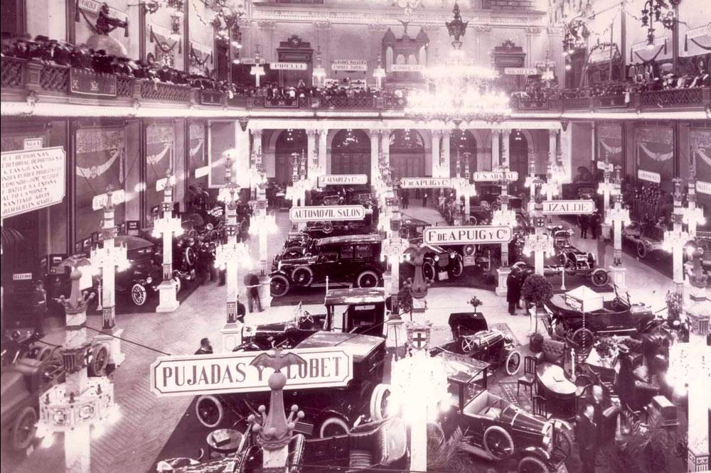 En 1919 tuvo lugar la primera edición del Salón del Automovil de Barcelona