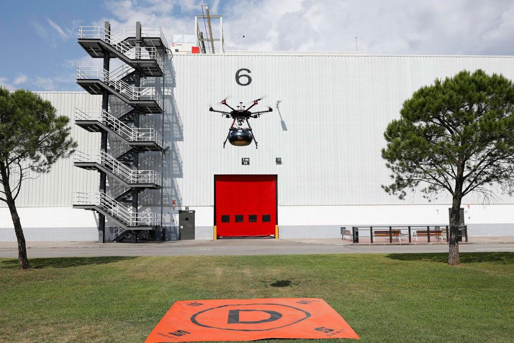 Dron de Seat y Grupo Sesé