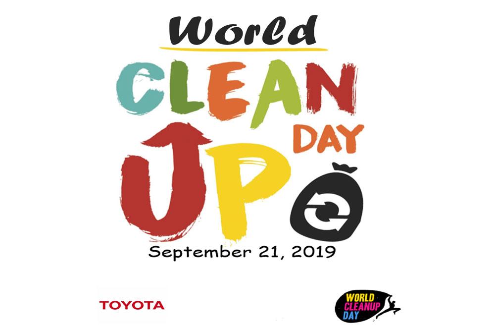 Toyota en el Word Clean Up Day 2019