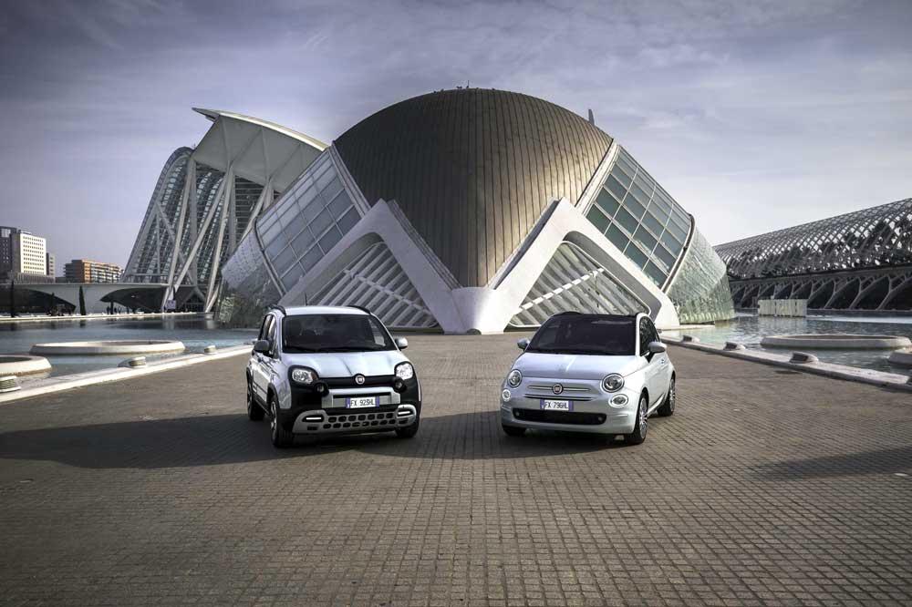 Fiat 500 y Panda Hybrid