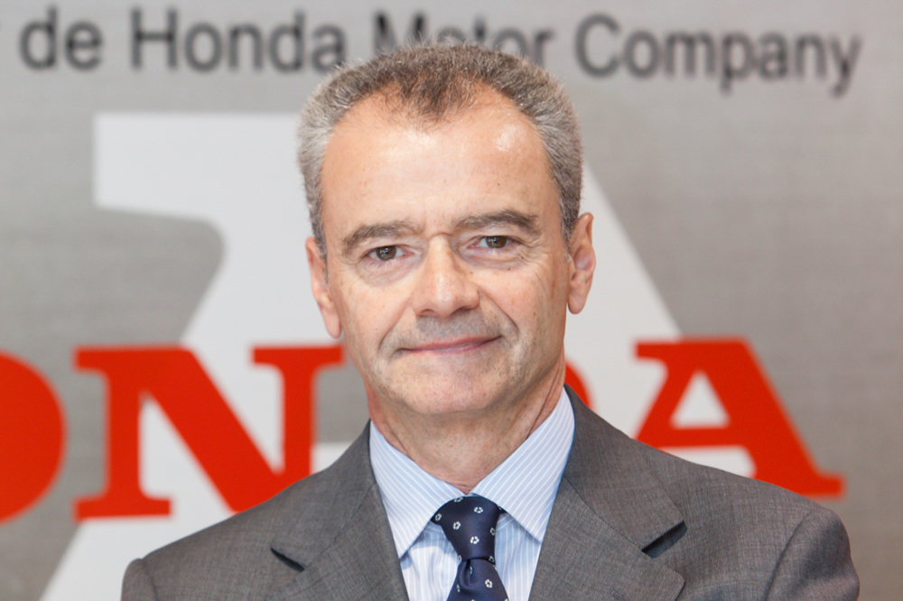 Marc Serruya, presidente saliente de Honda España y Portugal