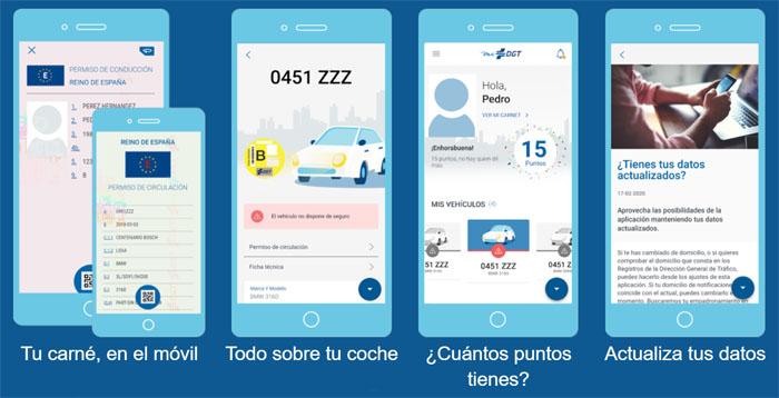 Nueva App Mi DGT