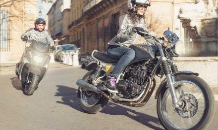 Hay más motos y más mujeres motoristas