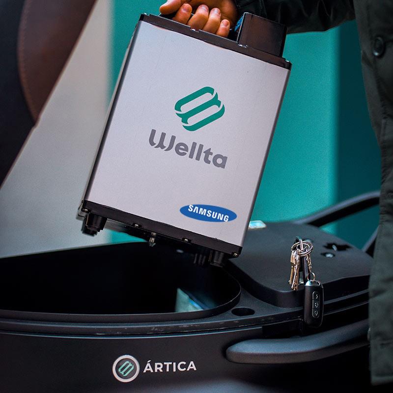 Batería Samsung Wellta Motors