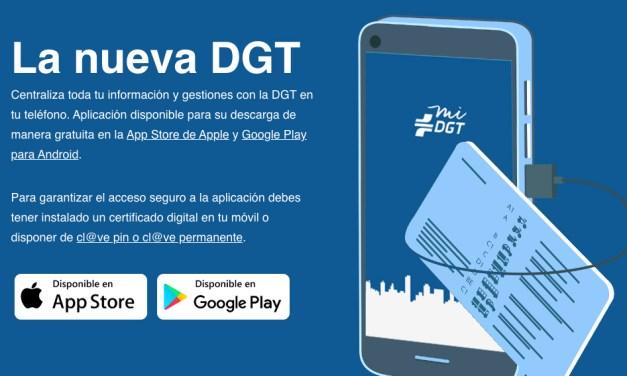 Nuevas funciones de la App miDGT