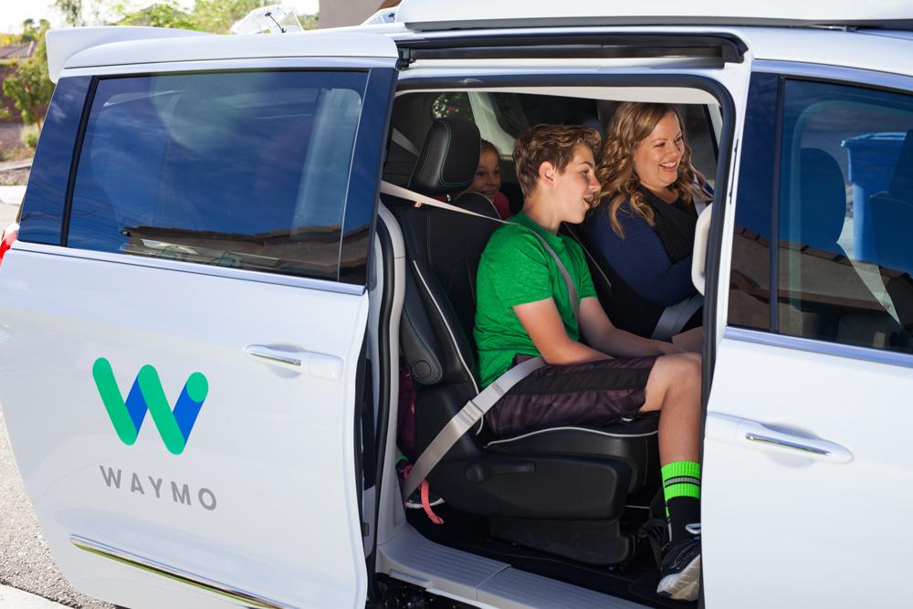 Taxis Waymo