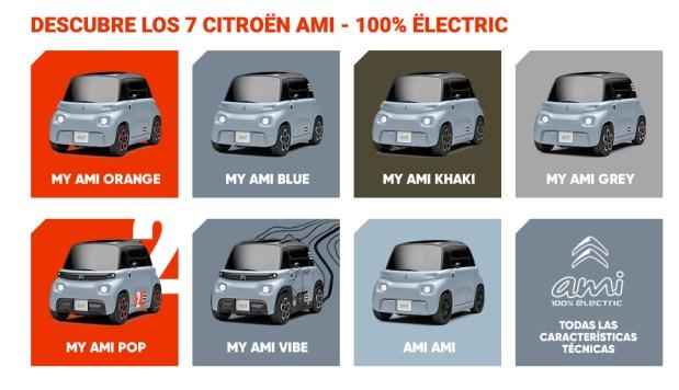 Los 7 Citroën Ami