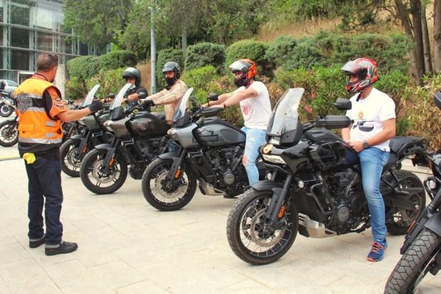 Motorama 2021 Rutas externas Harley Davidson Pan America