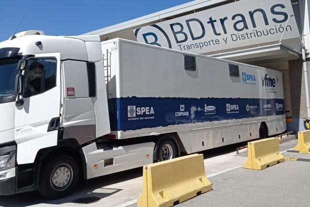 Camión de BDtrans equipo enduro