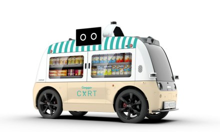 El Food Truck autónomo de Goggo Network, circulará por Las Rozas de Madrid