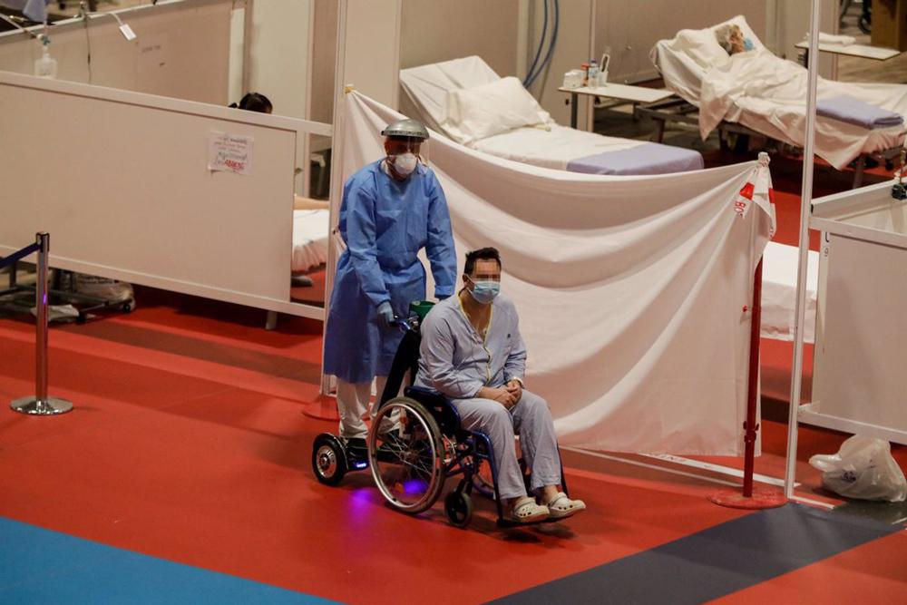 Mooevo en el hospital de Ifema