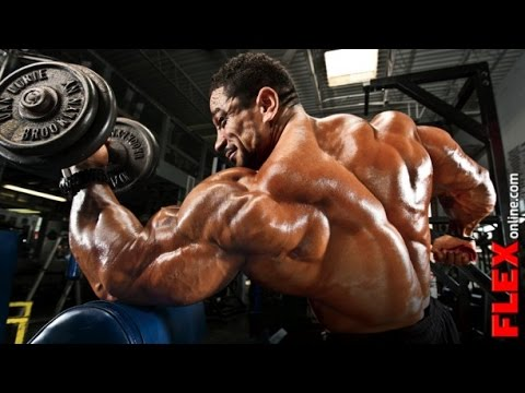 Roelly Winklaar Chest Bicep Workout Göğüs Pazu Antrenmanı