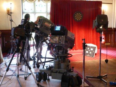 Colour cameras warming up.