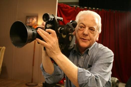 Brian Tufano with Éclair camera.