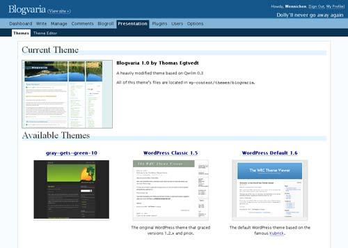 Blogvaria WP Theme 1.0
