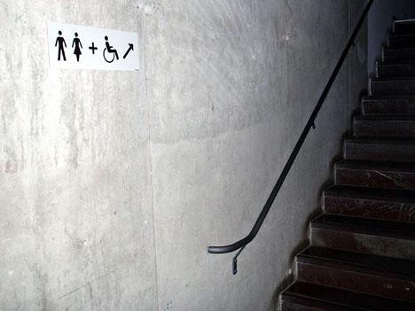 Handicap toilets
