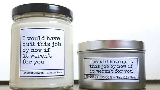Coworker Candle