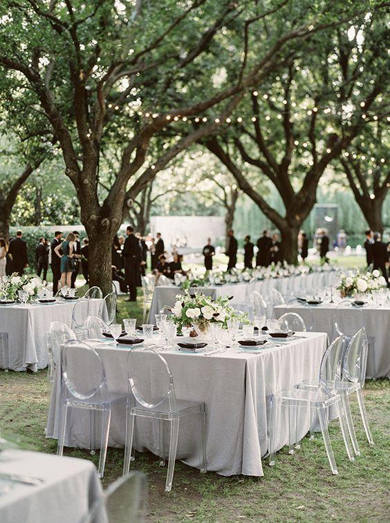Minimalist Wedding Chairs