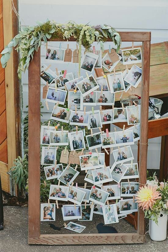 Snap shots of you and your guests and let your guests keep a copy as bridal shower favors.