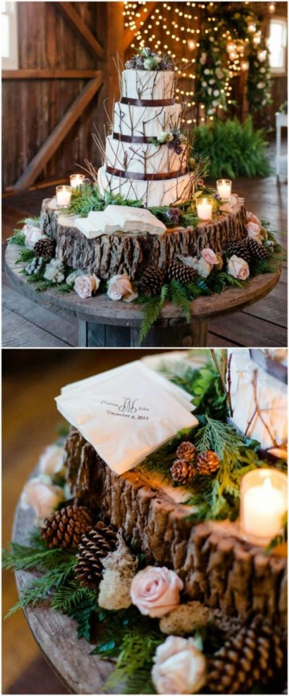 Rustic Wedding Cakes for your fall wedding