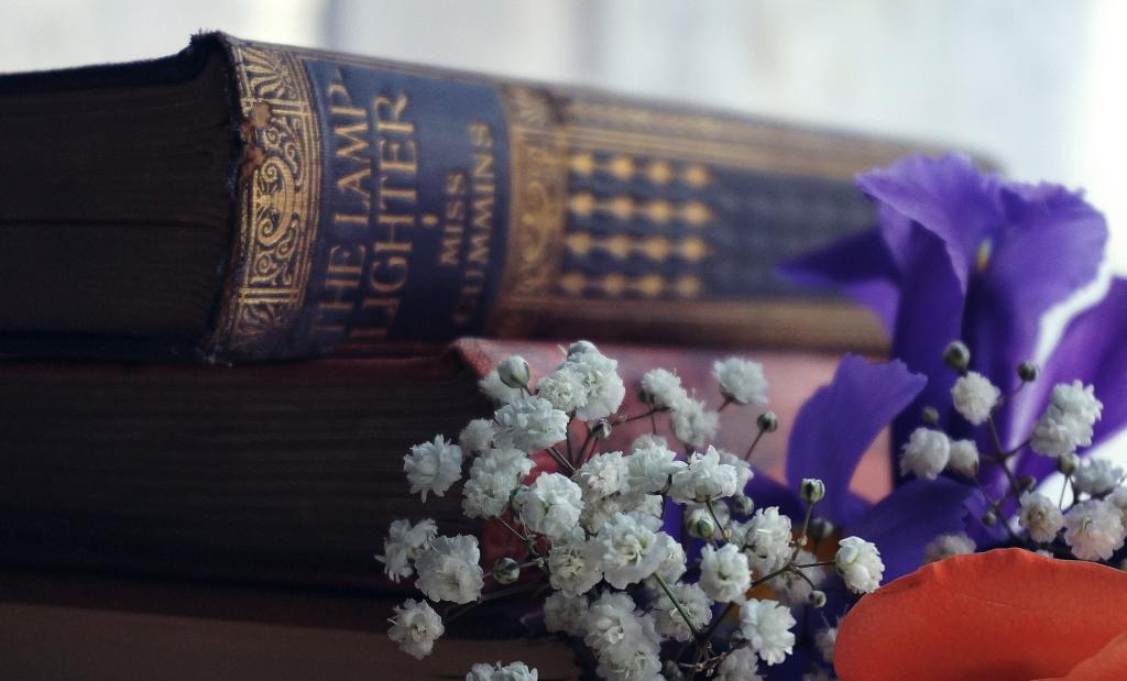 Books as Alternatives to Flower Bouquets