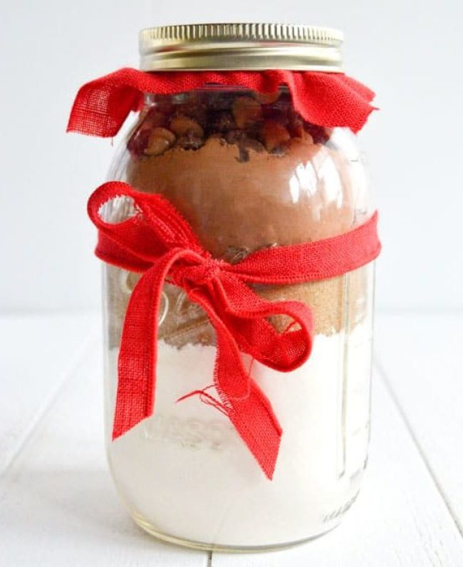 Baby Shower Favors Muffin Mix in a Jar