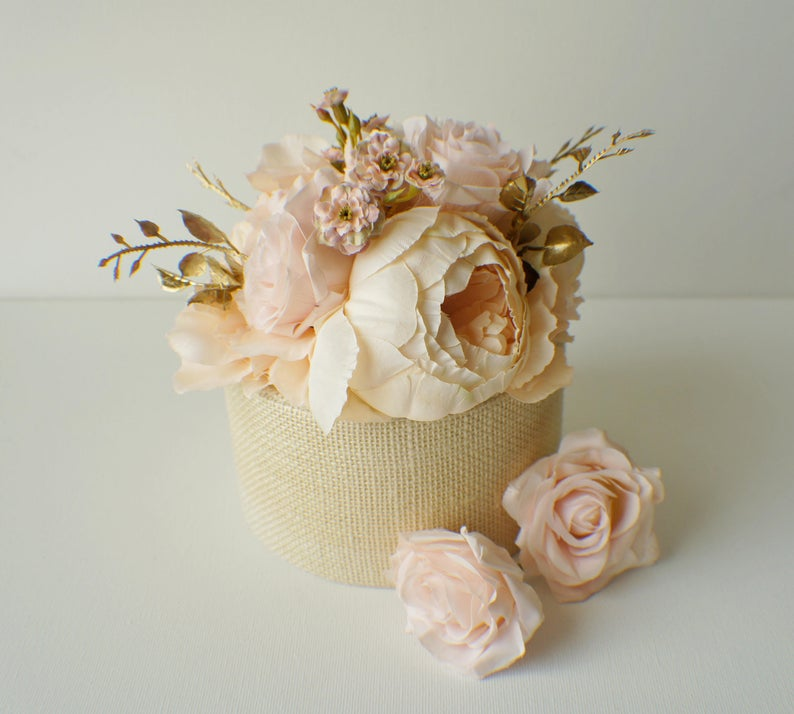 Silk Flowers for Your Cake Etsy