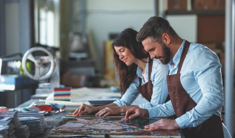 mosaic artist