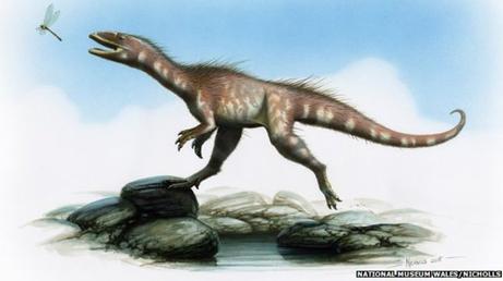 Resultado de imagem para jurassic theropoda