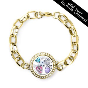 gold floating charms locket for grandma eves addictin custom bracelet gift for grandma next day delivery