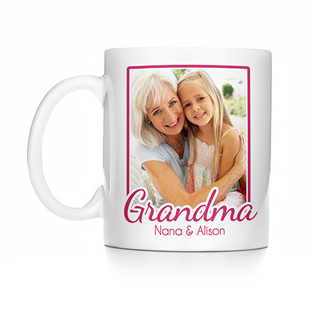 personazlied grandma mug custom photo mothers day gifts 2018 gifts for nana eves addiction