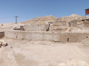 Why plaster over an ancient site as important as Jericho?
