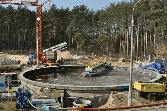 Bâtiment, traitement eaux usées