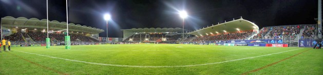 Stade Gilbert Brutus. Home of the Catalan Dragons
