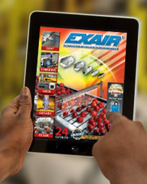 EXAIR iPad Library