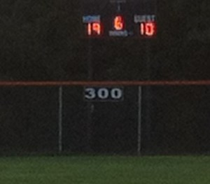 Cropped Scoreboard