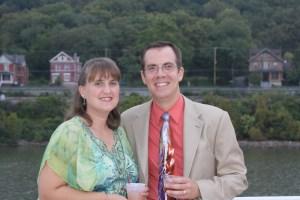 Myself, Dan Preston (AKA: Professor Penurious) and My Amazing Wife