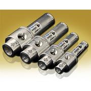 EXAIR has four sizes of Adjustable E-Vac Vacuum Generators in stock.