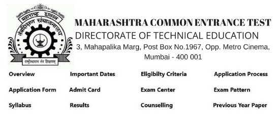 Mht Cet 2019 Exam Dates  Application Form  Syllabus