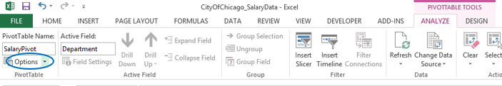 Activating Excel's GETPIVOTDATA Function