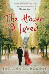 book cover House I loved two people walking down Paris boulevard