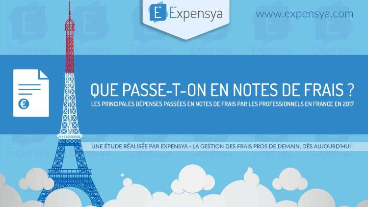 [Infographie] Que passe-t-on en notes de frais ?