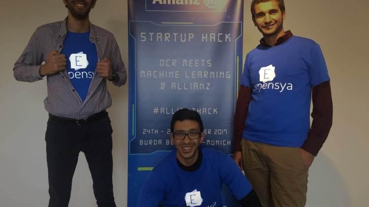 L'aventure de l'équipe Expensya finaliste du Allianz Startup Hack