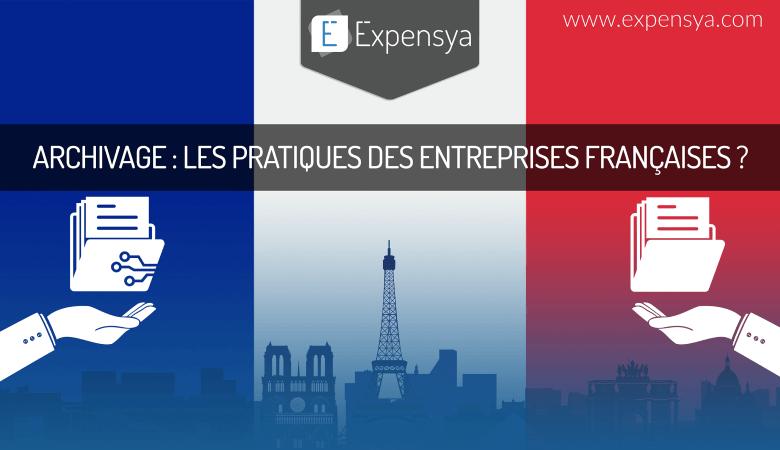 Pratiques d'archivage des entreprises françaises