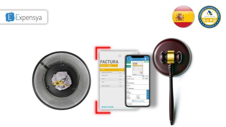 La digitalización certificada de tiques y facturas en España
