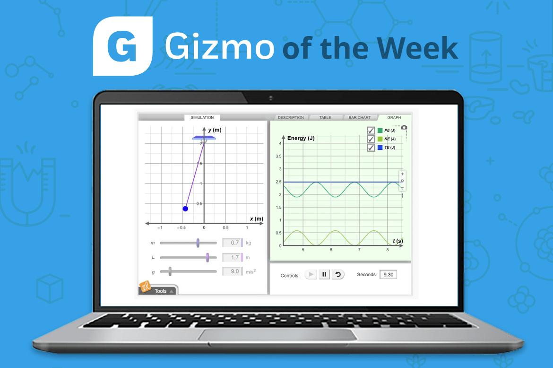 Gizmo Of The Week Energy Of A Pendulum